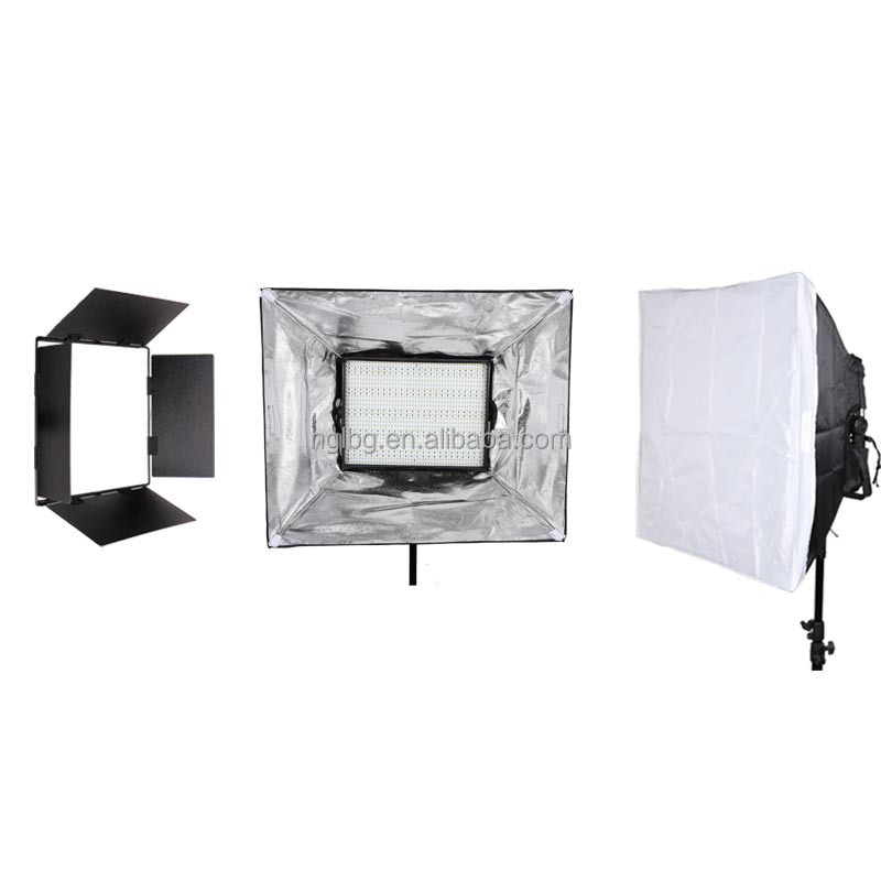 Nanguang 72W CN-1200DSP DMX Studio LED Light with LCD Screen Showed Address Code Ra 95