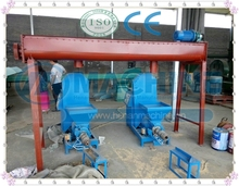 China made biomass briquette making machine plant/wood timber briquette press equipment