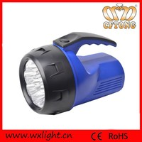 Portable Plastic 9 Led Handlamp Hand Held Search Light