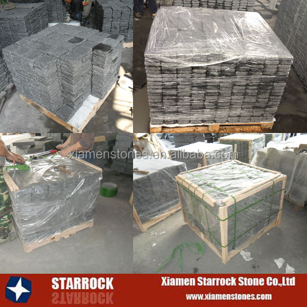 China cheapest porphyry granite paving stone paver