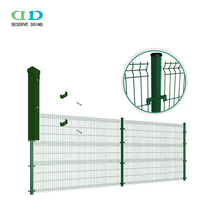 Welded wire dog fence panels/outdoor metal fence