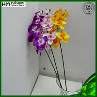 artificial orchid flower arrangements for hotels