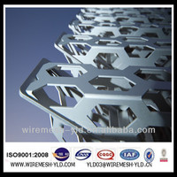 perforated corrugated metal panels /perforated plastic baskets