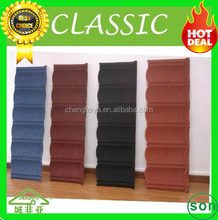 new material hailstone resistent Stone coated roofing sheet