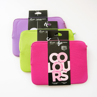 Professional colorful neoprene laptop sleeve