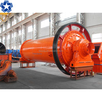 Mineral ore dressing ball grinder mill for grinding calcium carbonate