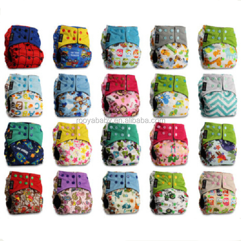 Washable Baby Pocket Nappy Cloth Reusable Diaper Bamboo Charcoal Covers Wrap