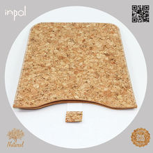 hot selling for ipad mini new product slim cellphone case with cork leather
