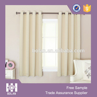 Polyester Blackout Window Curtain