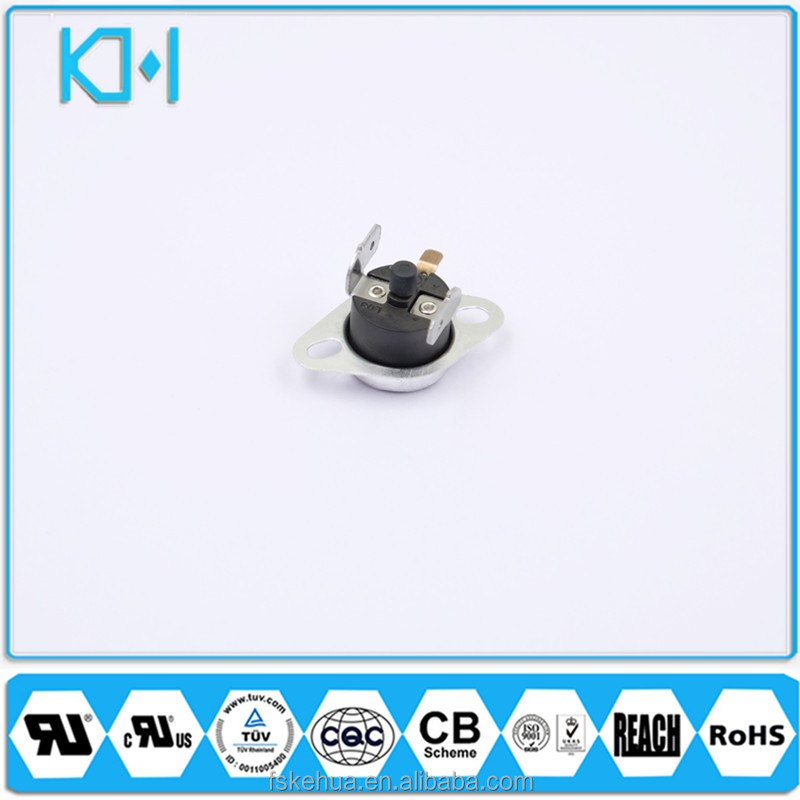 China CQC KSD301 Bimetal Thermostat 5A 250V Kettle Thermo Switch Foshan Electrical Appliance