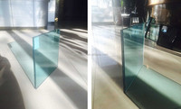 toughened glass laminated 8.38mm thickness for building