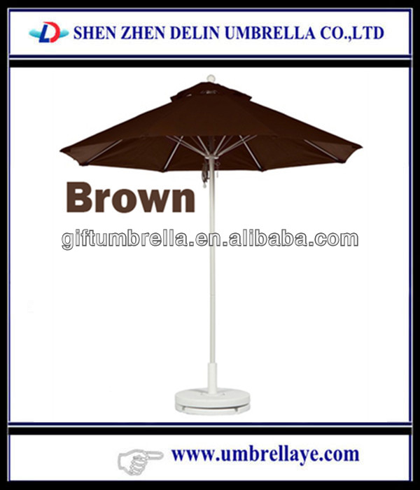 Aluminum sun garden umbrella cover