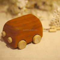 Wood Graffiti Wedding Car Music Box Shuter L2816