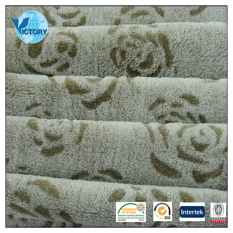 Top selling fabric fleece ,cutting motif Coral Fleece Fabric direct buy china
