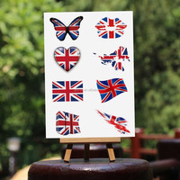 UK London Olympic temporary tattoo,Temporary olympic tattoo sticker,face tattoo