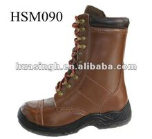 all sizes steel toe protective army brown color hunting boots 2012