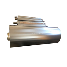 Steel embossing roller for leather