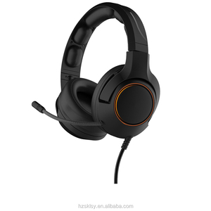 3.5mm Stereo Noise-canceling Computer Headset Adjustable Gaming Headphones