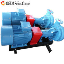 Mud treatment centrifugal pump in oil and gas drilling mud process