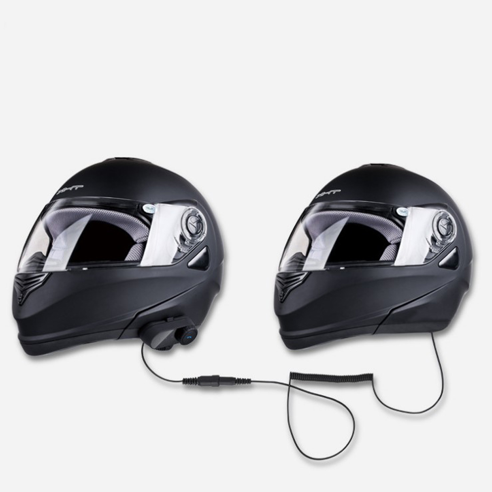 Wired Intercom System For Motorcycle Helmet Rider And Passenger ...