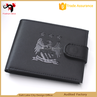 Fashion PU leather wallets for Souvenirs young men