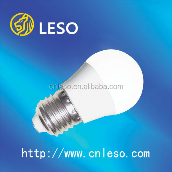2017 led bulb 3W Plastic+aluminum with long lifetime 30000h e27