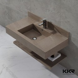 Sanitary Ware Square Wash Basin for Bathrooms