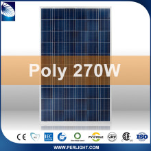 Zhejiang perlight solar company wholesale used solar pv panels silver black color