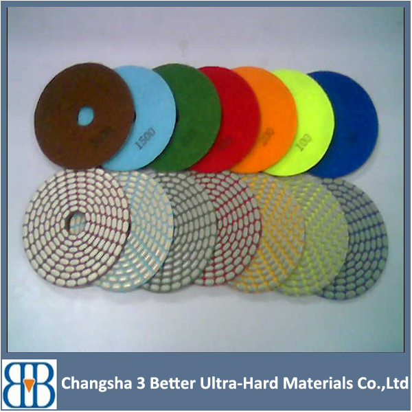 hand grinder cost of diamond wet polishing pad for building material hand tools machine