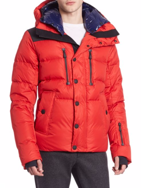 Attached hood with removable inner hood Down Jacket Men Wholesale For Winter Apparel