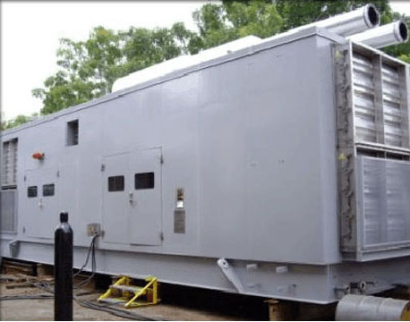 SOUNDPROOF ENCLOSURE FOR DIESEL ENGINE
