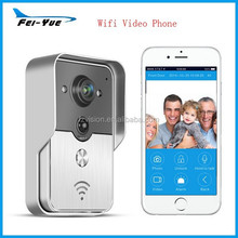 New Wifi Video Door Phone Support 3G IOS Android Smart Phone intercom