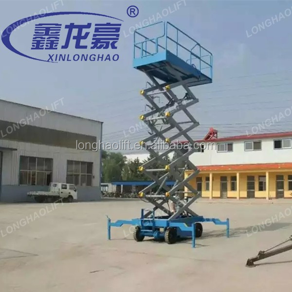motorized lifting platform