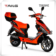 road scooter electric made in china with rear box 350w electric moped with pedals tailg vespa pedelec for sales TDRD09Z