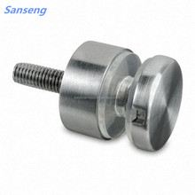 Wholesales 13.5mm clamp system for glass balustrade / stainless steel stair glass clamp