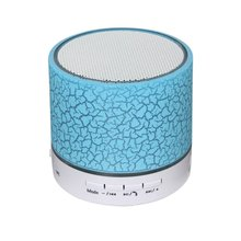 Portable MINI LED Wireless Bluetooth Speaker with fm radio usb sd card reader