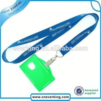 China high quality customized north face lanyard with id card