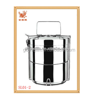 high quality hot selling tiffin box stainless steel with eco friendly material