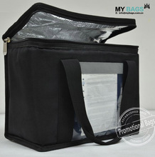 Large Heavy Duty Nylon Insulated Cooler Bag Lunch Bag