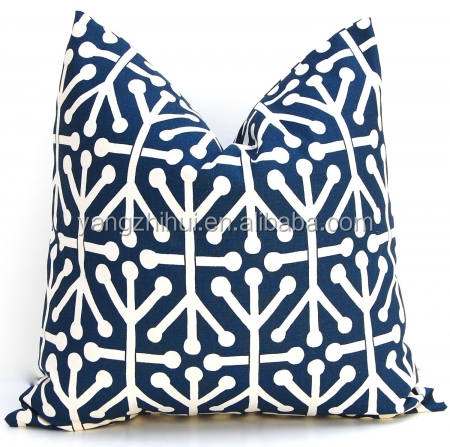 navy blue jacks pillow cover,navy blue jacks pillow case