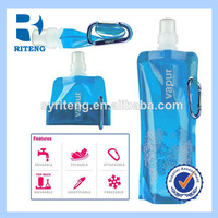 2014 Wholesale BPA free Folding Water Bottle/Collapsible Water Bottle/Foldable water bottle