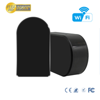 2017 Best Hot Hidden Spy Black Box camera Wifi Camera with Remote Live Video Access Motion Activated, Smartphone Compatible