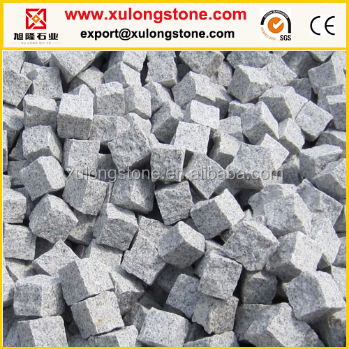 Grey Granite G603 Paving Stone,Quarry Natural Stone Cheap Cobble Stone