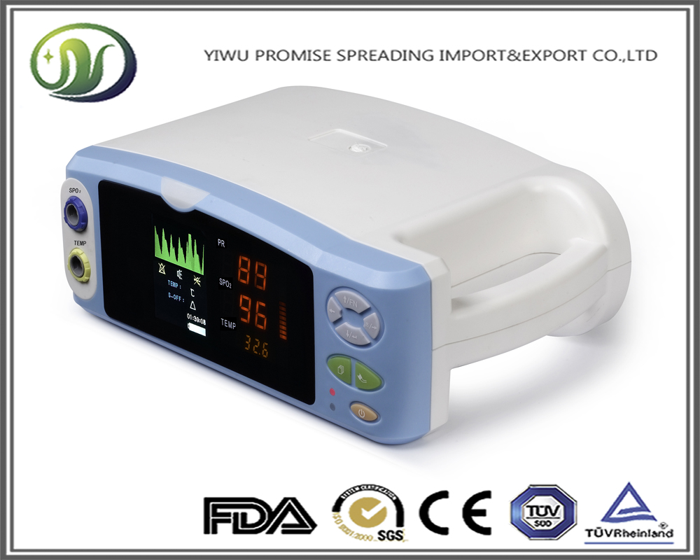 Advanced Free HS Table Top CE Approved Portable Adult Pediatric Patient Pulse Oximeter as omron