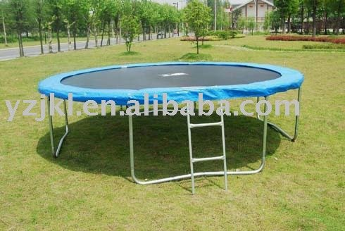 8FT Garden Trampoline without Safety Net but with ladder