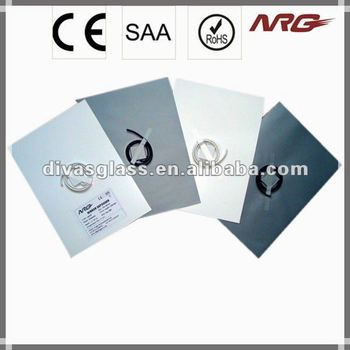 Self-adhesive foil heating element