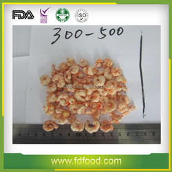 popular and snacks food frozen dried shrimp