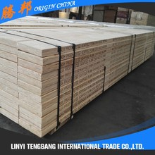 OSHA Tested Pine LVL Planks Scaffolding Wooden Board Export To Dubai