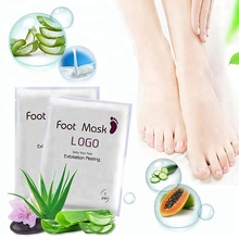 Wholesale Silk Soft Smoother Nutrition Baby Soft Foot Mask Pack