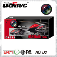 2014 udirc new product! 2.4G 4CH helicopters adult rc toys D3